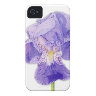 Purple Iris BlackBerry Bold Case-Mate Barely There iPhone 4 Case