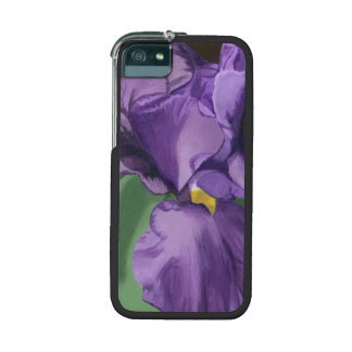 Purple Iris Cover For iPhone 5/5S