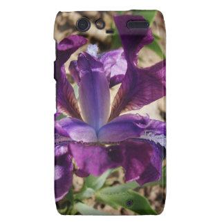 Purple Iris Droid RAZR Cover