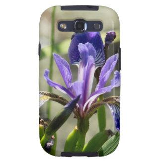 Purple Iris Galaxy SIII Cover
