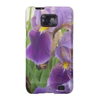 Purple Iris Galaxy SII Case