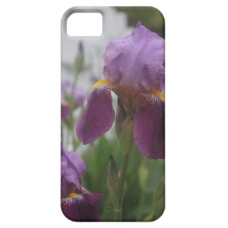 Purple Iris - Close Up Barely There iPhone 5 Case