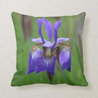 Purple Iris Cushion