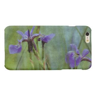 Purple Iris Floral Impressionist Art Cases iPhone 6 Plus Case