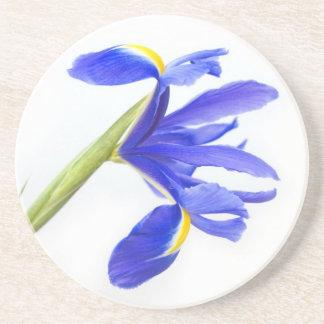 Purple Iris Flower Coaster