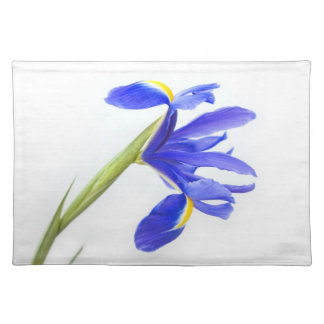 Purple Iris Flower Placemat