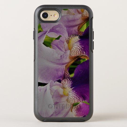 Purple  Iris Flowers  iPhone 8/7 Symmetry Series