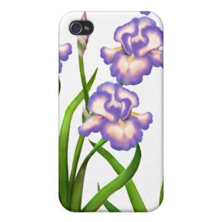 Purple Iris Garden Flowers Speck Case iPhone 4/4S Covers