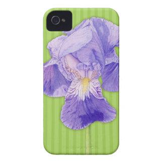Purple Iris green iPhone 4 Case-Mate ID™ iPhone 4 Cover
