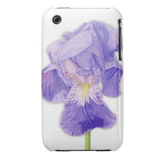 Purple Iris iPhone 3G/3GS Case-Mate Barely There™ iPhone 3 Case-Mate Case