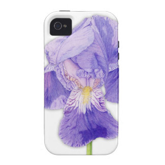 Purple Iris iPhone 4 Case-Mate Tough™ Case-Mate iPhone 4 Case