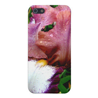 Purple Iris iPhone 5/5S Case
