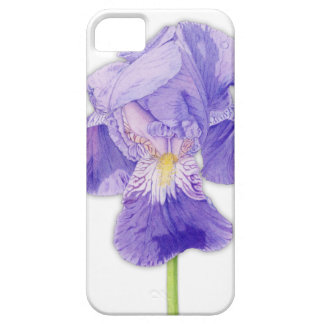 Purple Iris iPhone 5 Case-Mate ID™ Barely There iPhone 5 Case