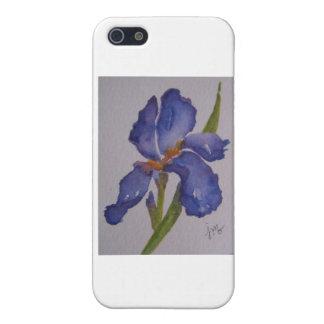Purple Iris iPhone 5 Covers