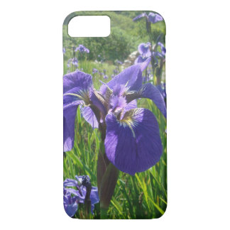 Purple Iris iPhone 7 case