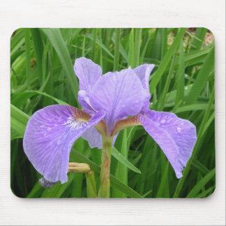 Purple Iris Mouse Mat