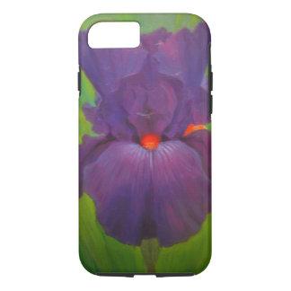 Purple Iris Smart Phone Cover