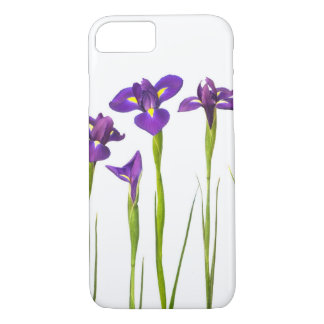 Purple Irises Flower Colorful Iris Flowers Floral iPhone 7 Case