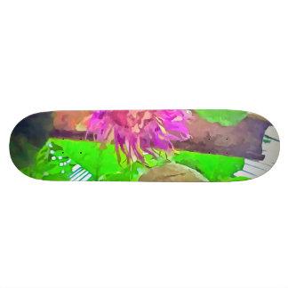 Purple is good 20.6 cm skateboard deck