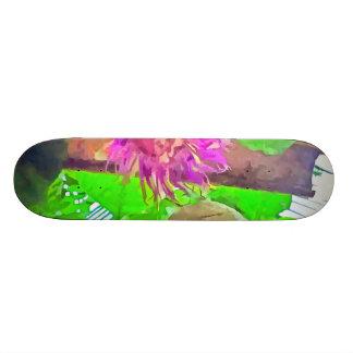 Purple is good 21.6 cm old school skateboard deck