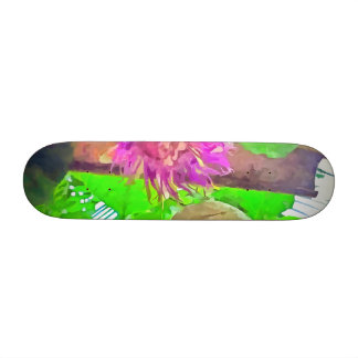 Purple is good custom skate board