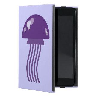 Purple Jellyfish Case For iPad Mini