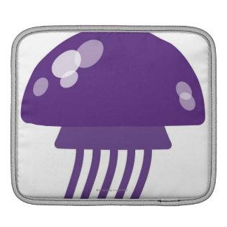 Purple Jellyfish iPad Sleeve