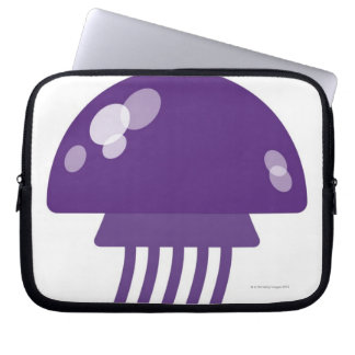 Purple Jellyfish Laptop Sleeve