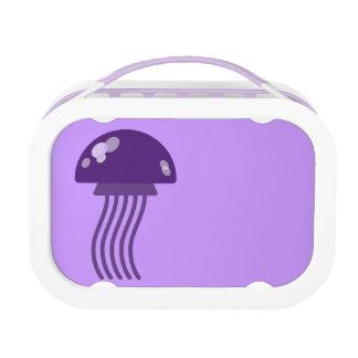 Purple Jellyfish Lunch Box