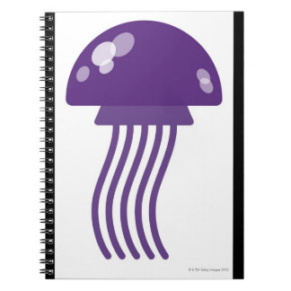 Purple Jellyfish Notebook