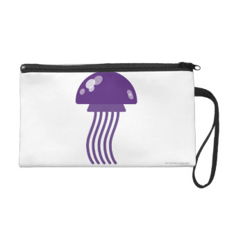 Purple Jellyfish Wristlet