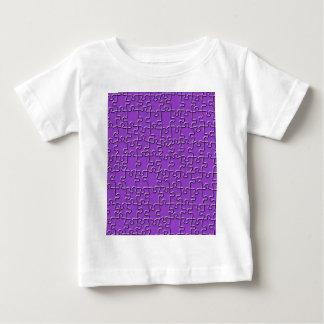 Purple Jigsaw Baby T-Shirt