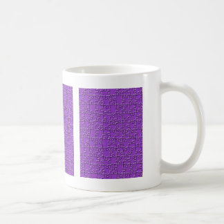 Purple Jigsaw Coffee Mug