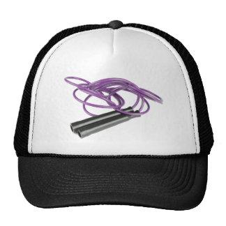 Purple Jump Rope Cap