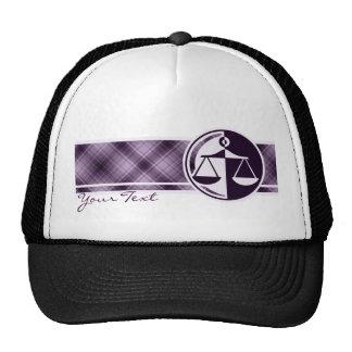 Purple Justice Scales Trucker Hat