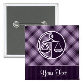 Purple Justice Scales Pin