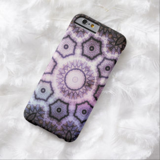 Purple kaleidoscope abstract barely there iPhone 6 case