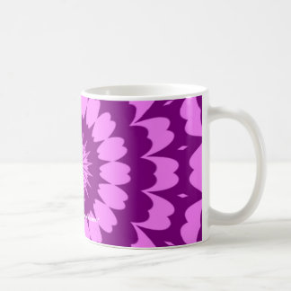 Purple Kaleidoscope design Mug