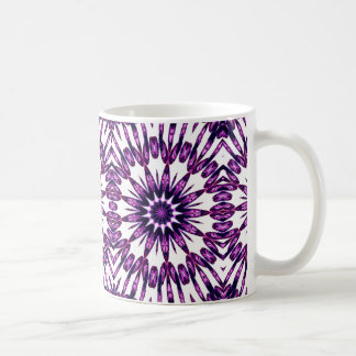 Purple Kaleidoscope effect mug