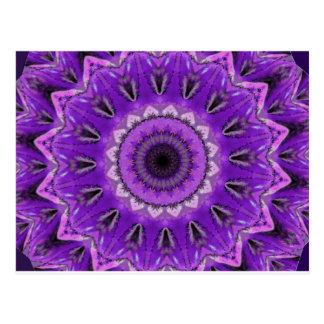 Purple_Kaleidoscope resized.PNG Post Card