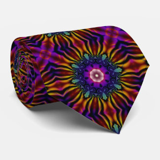Purple Kaleidoscope Tie