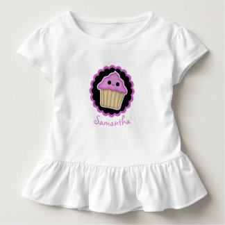 Purple Kawaii Cupcake Toddler Shirt