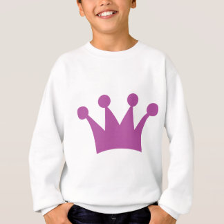 purple king crown sweatshirt