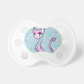 Purple Kitty Baby Pacifier