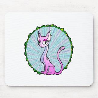 Purple Kitty Mousepads