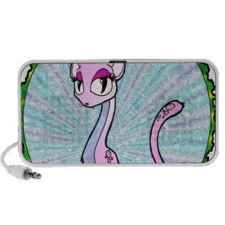 Purple Kitty Travel Speakers