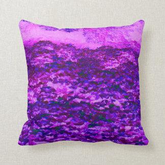 Purple Kudzu Throw Pillow