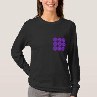 Purple Lace Design. T-Shirt