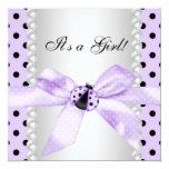 Purple Ladybug Baby Shower