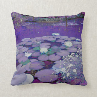 Purple Lake Dreaming Cushion